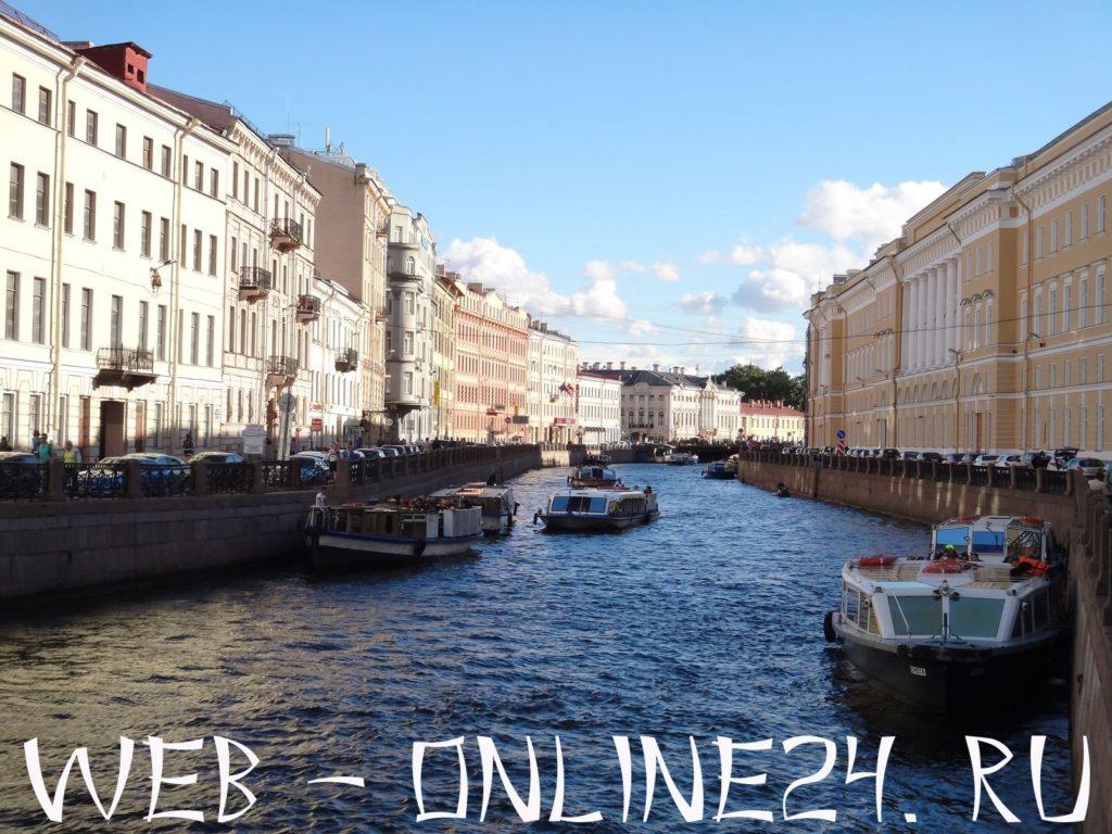 Река Мойка в Санкт-Петербурге