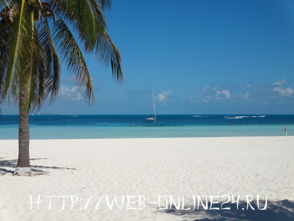Пляж на Карибском море