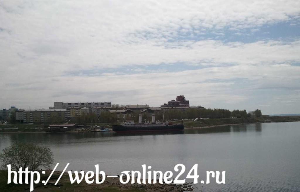 Иркутск - плавучий музей на Ангаре