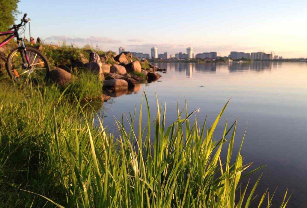 Зеленый город Минск, Белоруссия