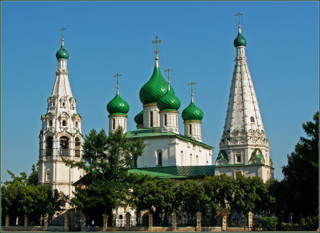 Храм Ильи Пророка в Ярославле
