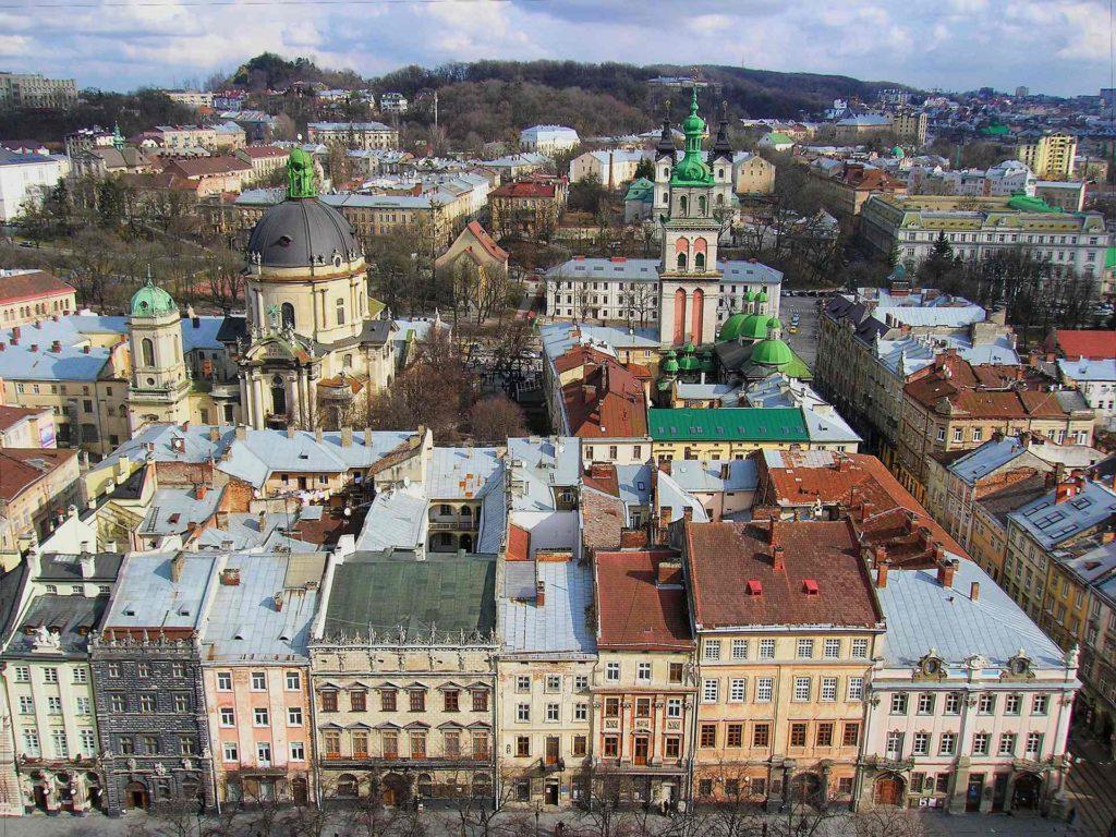 Исторический центр Львова, Украина