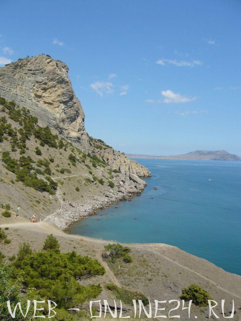 Гора Орел или Коба-Кая и Синяя бухта