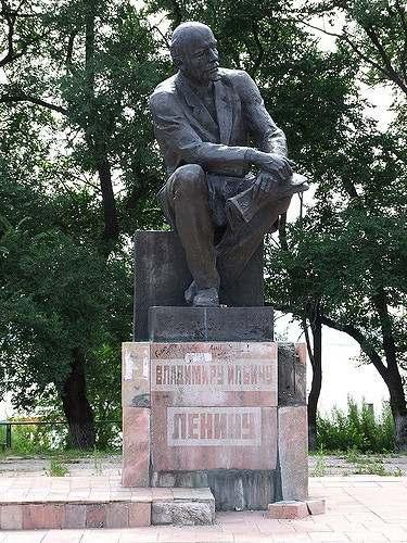 Памятник Ленину в Находке