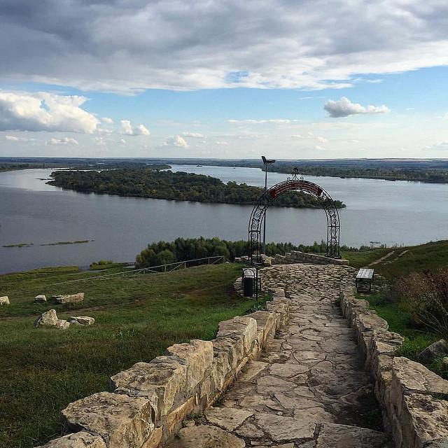 Елабуга панорамный вид на реку Кама