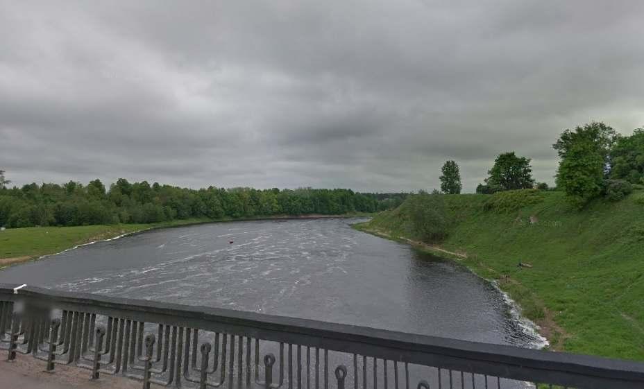 Мост через реку Лугу в Кингисеппе