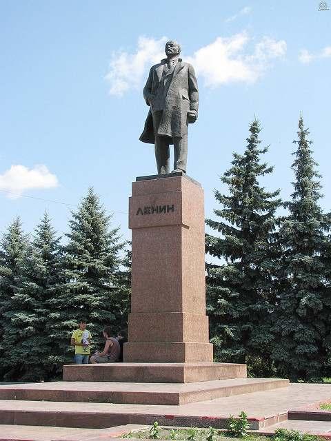 Памятник В. И. Ленину в Сызрани