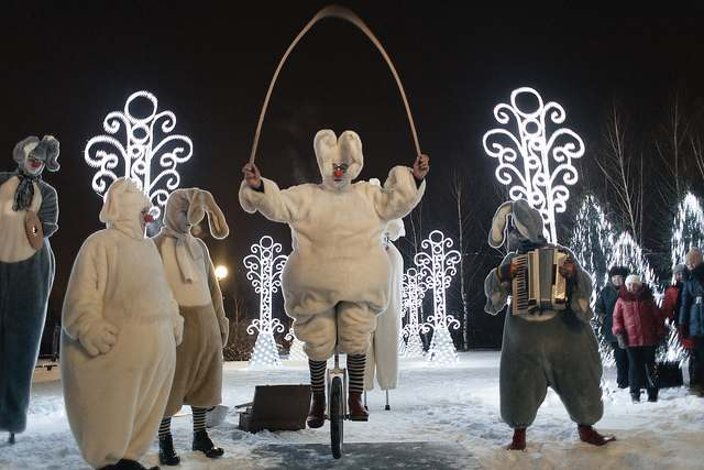 Новогодний праздник в Нижнекамске
