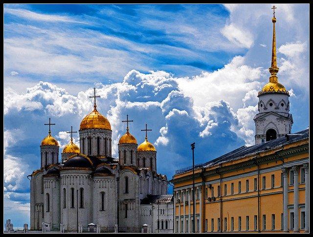 Исторический центр во Владимире