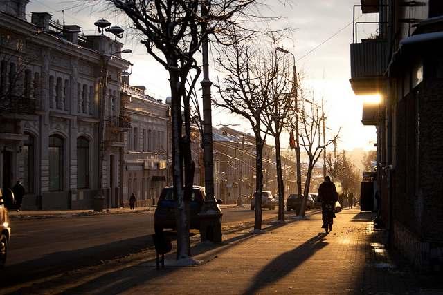 Улица Ленина в городе Калуга