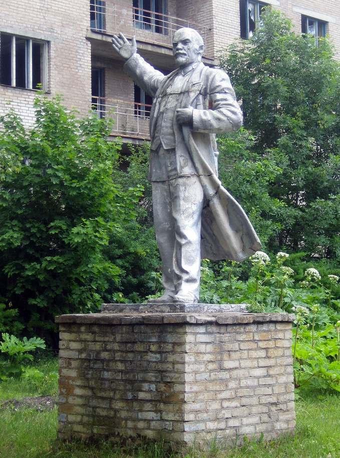 Памятник Ленину в Ивантеевке