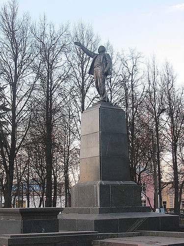 Памятник Ленину в Подмосковном Егорьевске