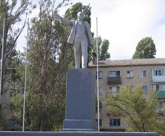 Памятник В.И. Ленину в Камышине