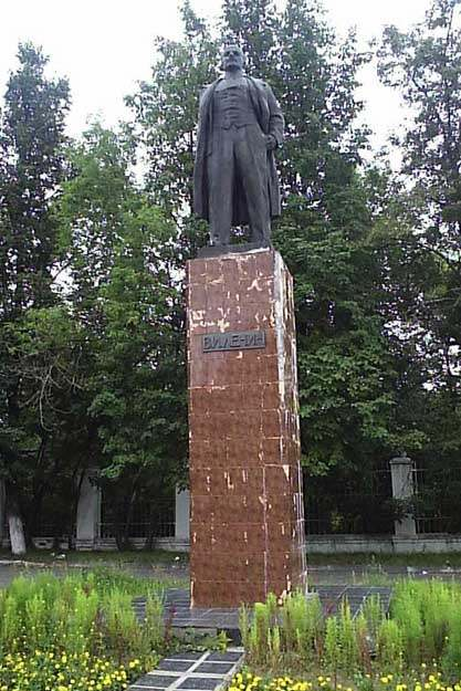 Памятник В.И. Ленину в Коврове