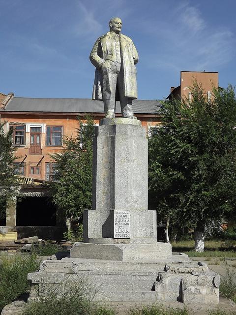 Памятник Ленину в Орске