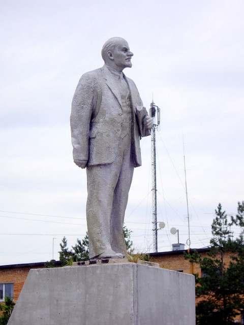 Памятник В.И. Ленину в Спасск Дальнем