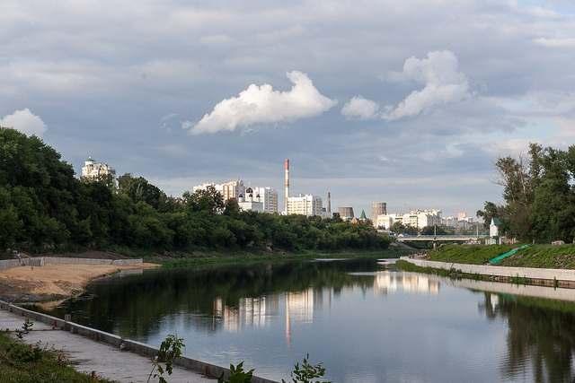 Панорамный вид на город Орёл