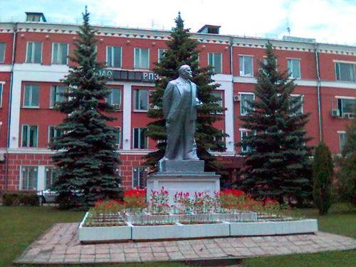 Памятник Ленину в подмосковном Раменском