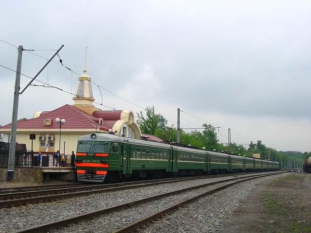 Железнодорожная станция Балашиха