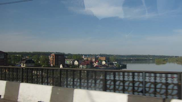 Река Бия в городе Бийск