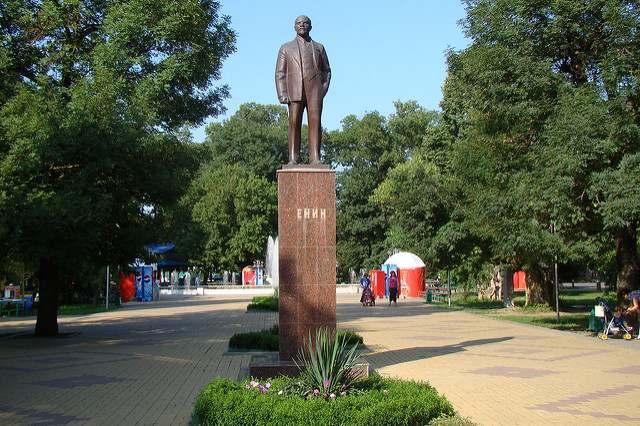 Памятник В.И. Ленину в Белореченске