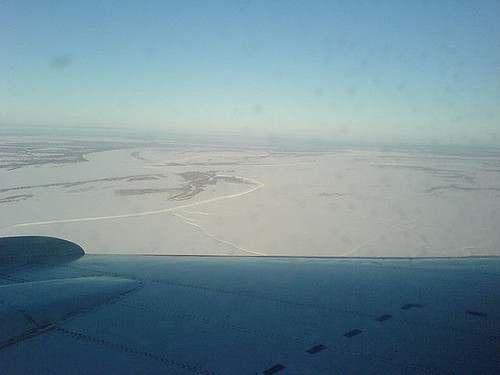 Посадка в Ханты-Мансийске