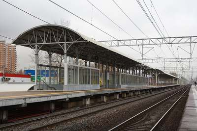 Платформа Кучино в Железнодорожном