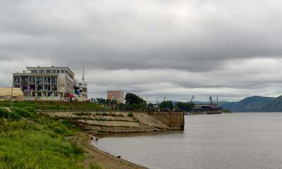 Речной вокзал в Комсомольске-на-Амуре