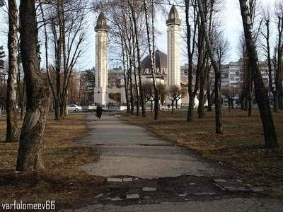 Мечеть в городе Нальчик