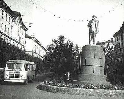 Улицы Междуреченска во времена СССР
