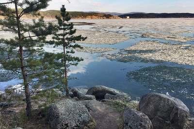 Озеро Тургояк недалеко от Миасса