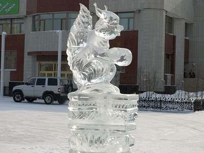 Фестиваль ледяных скульптур в Новом Уренгое