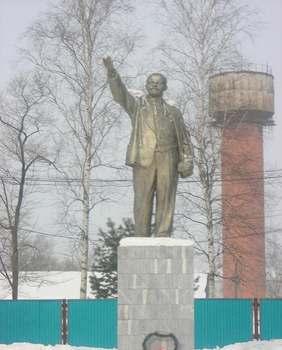 Памятник Ленину в Переяславке