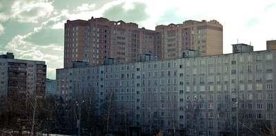 Современная застройка города Одинцово