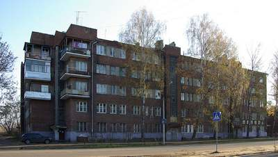 Улица Кирова в Орехово-Зуево
