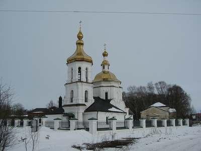 Преображенская церковь в городе Бежецк. Тверская область.