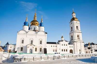 Софийский Собор на территории Тобольского кремля
