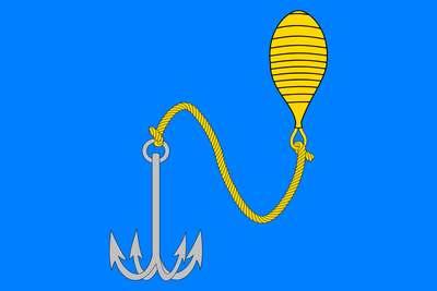 Флаг города Буй в Костромской области