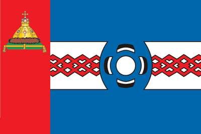 Флаг Удомли. Тверская область.
