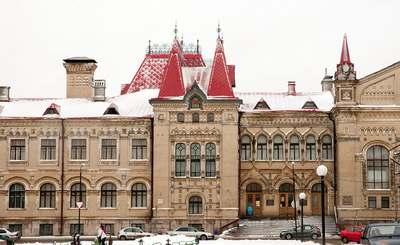Здание Рыбинского музея-заповедника