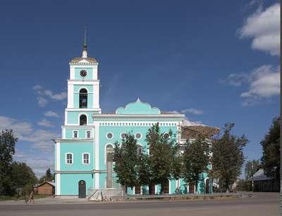 Церковь Троицы Живоначальной в Старой Купавне