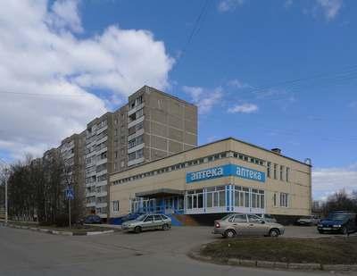 Современная застройка города Чехов в Подмосковье