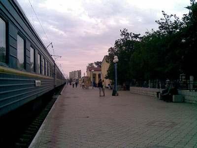 Железнодорожный вокзал в Евпатории