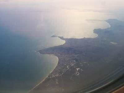 Феодосия с самолета
