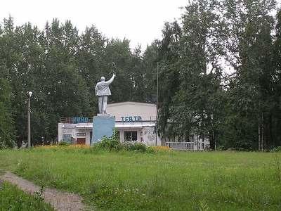 Памятник В.И. Ленину в Чухломе