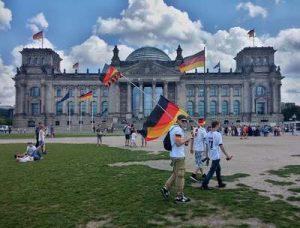 Бундестаг в Берлине