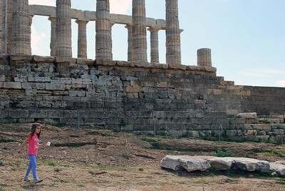 Греция мыс Сунион
