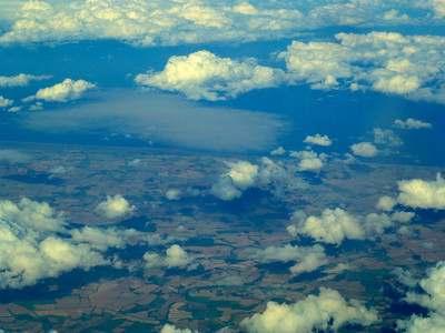 Ирландия с самолета
