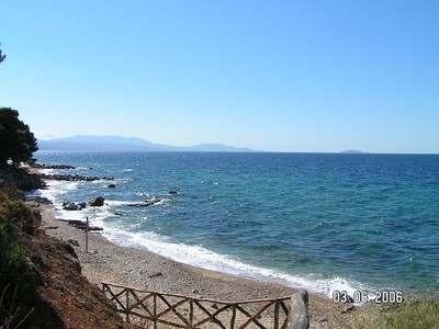 Панорамный вид на море, Халкидики