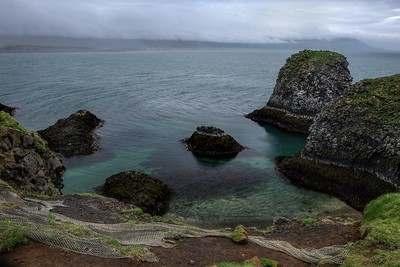 Побережье Снайфедльснес в Исландия